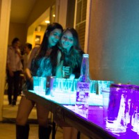 House party with your LED beer pong table