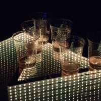 Infinity Glow beer pong table effect
